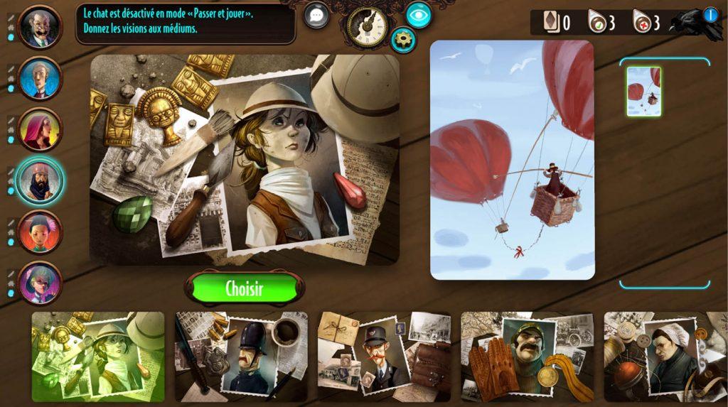 Mysterium jeu coopératif en ligne