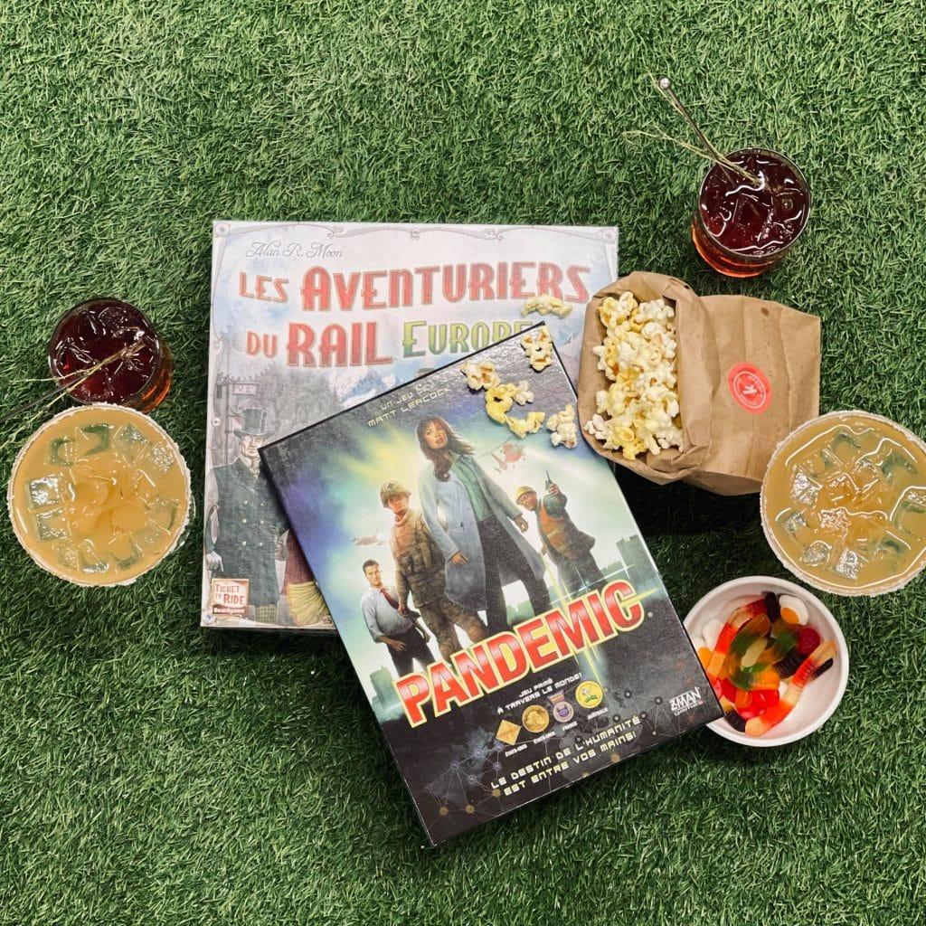 Forfait jeux & cocktails - Tendances