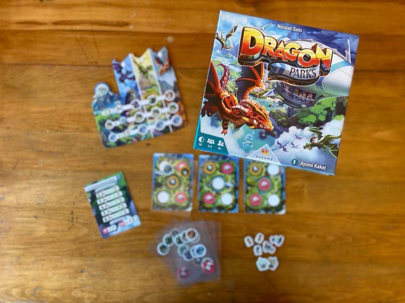 Jeu de société Dragon Parks