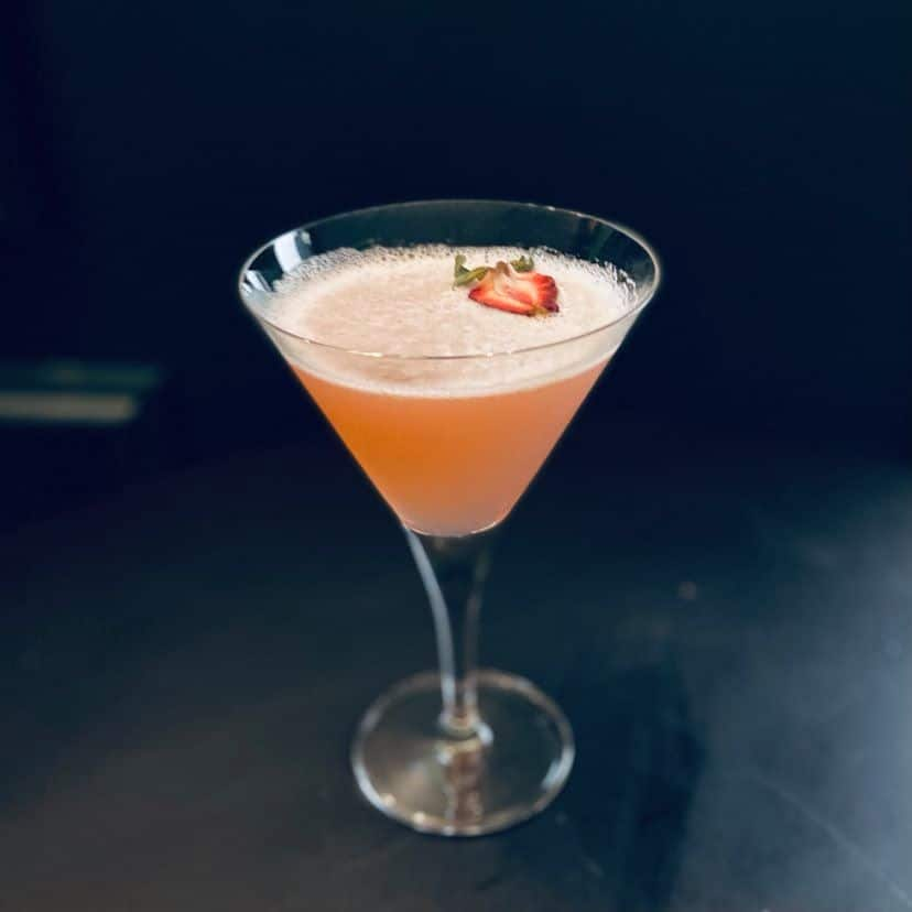 cocktail Bourgeon rose