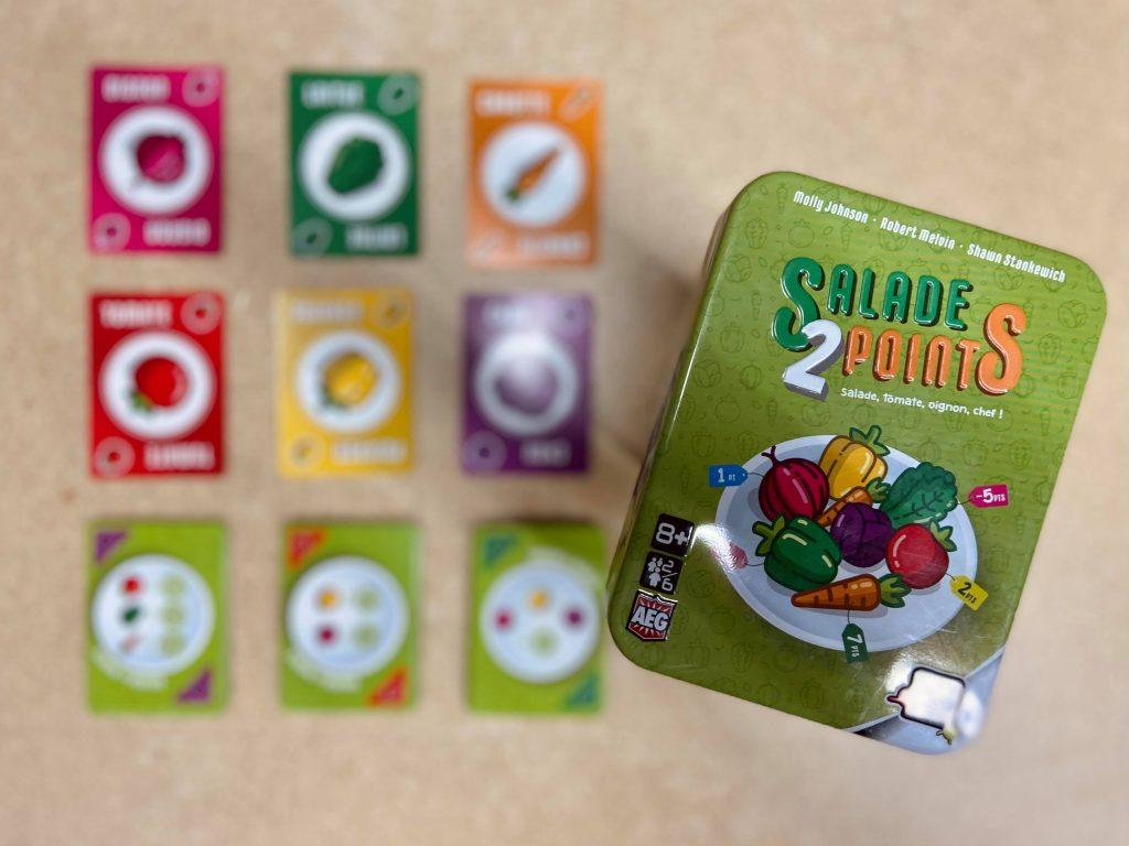 jeu de société Salade 2 points
